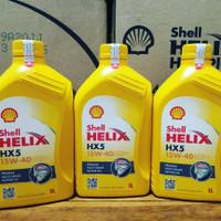 Oli Shell Helix HX5 sae 15W-40 1L Original