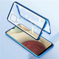 Double Glass case magnet SAMSUNG Galaxy A12 magnetic Front+back