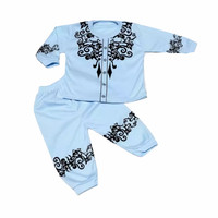 [TERBARU] setelan baju muslim koko bayi & balita usia 0-12 bulan best