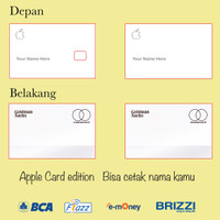 kartu flazz bca gen 2 custom Apple card saldo 0