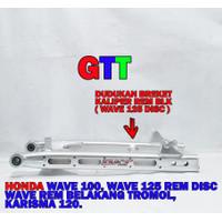 SWING ARM DKT COAK HONDA WAVE 125 (2 FUNGSI REM DISC DAN TROMOL )