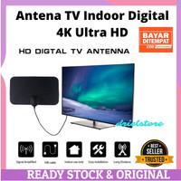 Antena TV Indor Digital Indoor TV Antene DVB-T2 4K High Gain 25dB - TF