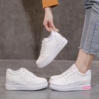 Sepatu Sneakers Wanita Sepatu Import Perempuan Fashion Korea SP-055 - Putih, 40