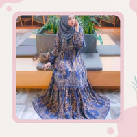 gamis syari terbaru-gamis sultan rayon-baju muslim