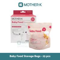 Mother-K - (Kantung Makanan) Baby Food Storage Bags 25 pcs