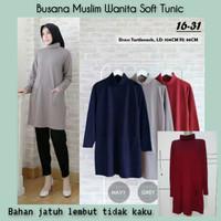 Busana Muslim Wanita Terbaru Baju Tunik Kaos Muslimah Hijab Fashion