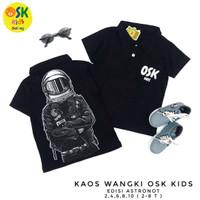 T-shirt Kaos Anak Polo Kerah OSK Kids (2-8 tahun)