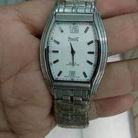 jam tangan piaget jam pria stainles steel quartz tipis