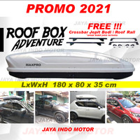 Roofbox Roof Box 600L Bagasi atas mobil 1 Paket