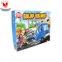 READY STOCK BALAP KULINER BOARD GAME HARIAN KOMPAS TERLARIS