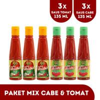 PAKET MIX CABE & TOMAT 135 (ONLINE) CABE 135 ML 3 PCS+TOMAT 135 3 PCS