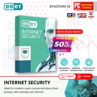 ESET Internet Security Antivirus Edisi 2021 - 1 PC 1-TAHUN