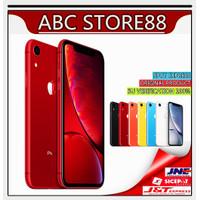 APPLE IPHONE XR 64GB NEW BARU LTE GSM ORIGINAL SILENT GARANSI 1 TAHUN