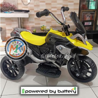 Motor Aki Murah Mainan Anak Merk PMB Type R M888 Ban Karet M 888