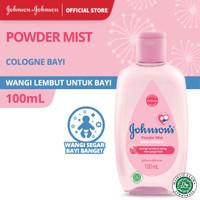 Johnson's Baby Cologne Powder Mist Parfum Bayi - 100 ml