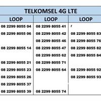Nomor Cantik Simpati loop Telkomsel 4G