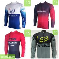 Baju Jersey Sepeda balap Panjang Specialized