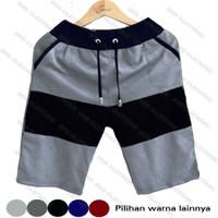 Celana Pendek Pria Kombinasi Babby Terry / Kolor Katun Santai / Celana