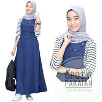 Baju Gamis Anak Tanggung/Kirana Seet Overol/Busana muslim Anak