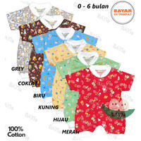 Baju Hansop/Romper/Jumper PENDEK WARNA Bayi/Anak Laki/Perempuan TOKARI