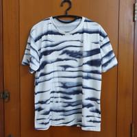Army T Shirt Pria / Wanita Kaos Loreng Adem Nyaman Size L Big / Besar