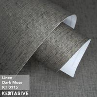 LINEN DARK MUSE - KERTASIVE PVC INTERIOR FILM - 60 CM
