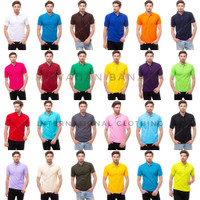 Kaos Polo Shirt Polos / Kaos Kerah / Kaos Polo - All Colours, S