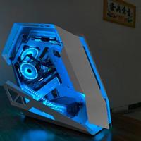CASING PC GAMING MOTOSPEED ATX RGB EDITION PREMIUM QUALITY MC-02 - Putih