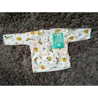 Baju bayi libby lengan panjang kancing depan/ Newbron