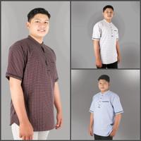 Baju Koko/ Kemeja Muslim Anak Remaja Tanggung Pria / Laki-laki ZHAFRAN