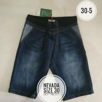 Celana Jeans Pendek Pria Nevada mix Cole size 30