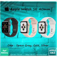 Apple Watch Series SE 40MM GPS Alumunium Case With Sportband BNIB
