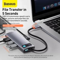 BASEUS USB TYPE C HUB TO HDMI 4K USB 3.0 PD FAST CHARGING