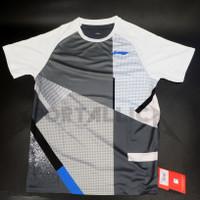 T-Shirt/Kaos/Baju Badminton LiNing / Li-Ning Men's RN ATSR339-1 GREY