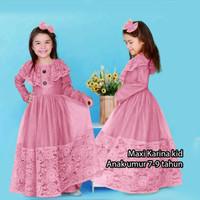 GB Baju Muslim Anak/Gamis Brukat Anak Karunia
