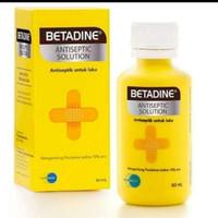 Betadine Antiseptic Solution [60 ml]