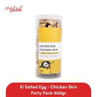Ei Salted Egg Chicken Skin Party Pack 400gr - Original/Spicy