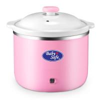 Slow Cooker Baby Safe bagus untuk bubur dan sup - LB009 Pink