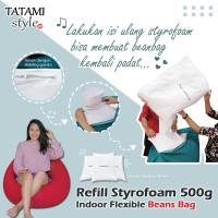Styrofoam Butiran 500gr untuk isi Beanbag