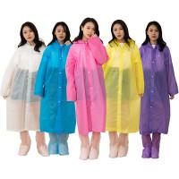 Jas Hujan Ponco Terusan Eva Fashion Gamis Wanita