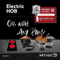 ARTUGO Built-in Electric Hob AE 2300 CB