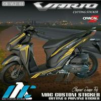TERBARU CUTTING STICKER MOTOR VARIO 125 150 NEW 2021