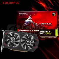 Colorful GeForce GTX1050Ti 4G-V 4GB GDDR5 - VGA GTX 1050 TI DDR5