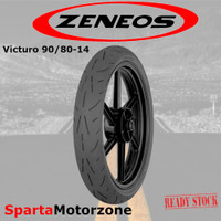 Ban Motor Zeneos Victuro 90/80-14 Tubeless Racing Compound