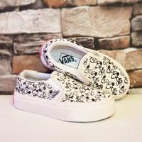 Sepatu anak laki laki dan perempuan Vans Disney(Premium)Size 16-35