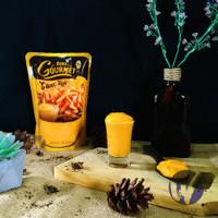 Euro gourmet cheese sauce / saos keju 500gr