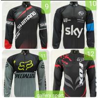baju kaos jersey sepeda-baju kaos balap sepeda sky - 11, L