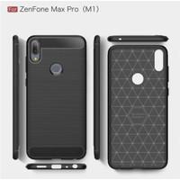 Case Asus Zenfone Maxpro M1 Carbon Silikon Hp