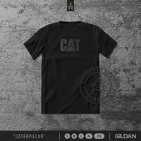 Kaos CAT Caterpillar | Tshirt | T Shirt | Distro - S
