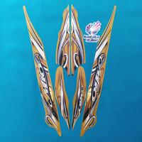 Stiker Striping motor yamaha mio sporty 2010 gold